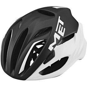 MET Rivale Casco, black/white